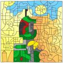 Mozaikowy Boba Fett