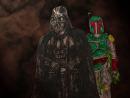 Darth Vader i Boba Fett
